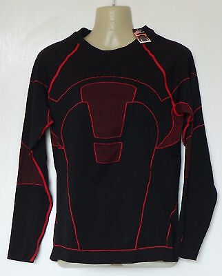 Motorcycle Motorbike Compression Base Under Layer Top Long Sleeve Shirt Mens XL
