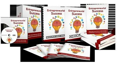 Entrepreneurial Success - Easy Blueprint To Program Your Mind For Success/resell
