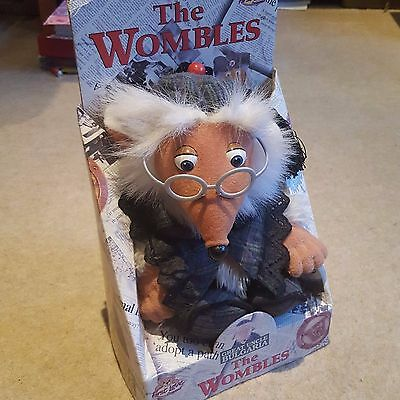 """Wombles Great Uncle Bulgaria Plush Soft Toy, First Love, 11"""" 1998"""