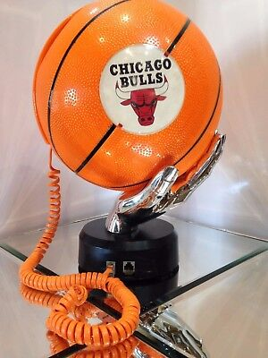 Chicago bulls NBA Basketball Telephone In perfect Condition.
