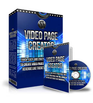 Wordpress Video Page Creator/Easily Make Your Site More Profitable/Resell Right