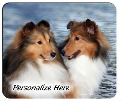 Sheltie   Shetland Sheepdogs   Personalized  Mouse Pad