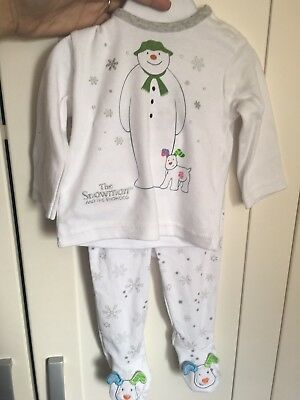The Snowman And The Snowdog Outfit Up To 3 Months Brand New