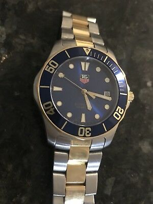 Tag Heuer Two-Time Aquaracer Sapphire Crystal