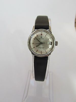 Vintage ladies stainless steel Omega Seamaster Ladymatic watch (fully serviced).