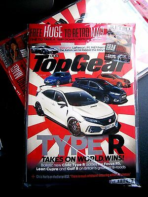 Top Gear Magazine Issue 298  August 2017 With Free TG Retro Magazine (new)