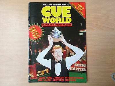 Cue World magazines January-December 1983, 12 early issues Volumes 1/2