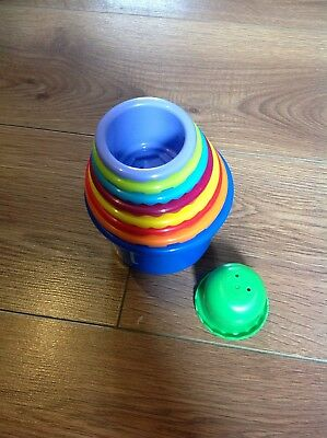 Children's Child Baby STACKING CUP SET Cups NEW without Box