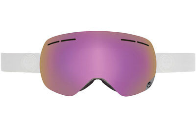 Dragon X1s Frameless Snow Goggles Whiteout - Pink Ion + lonised Lens