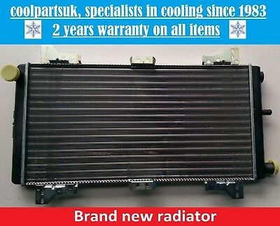 Brand New Radiator Ford Escort Mk3 1980 To 1985 Xr3/rs/petrol/diesel / Orion
