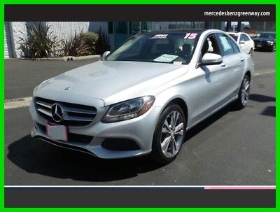2015 Mercedes-Benz C-Class C 300 Sport 2015 C 300 Sport Used Certified Turbo 2L I4 16V Automatic All Wheel Drive