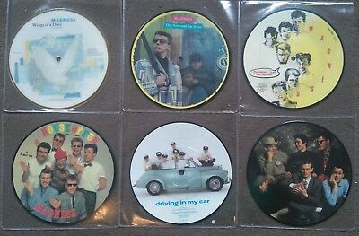 6 madness picture discs House of Fun One Better Day Wings of a Dove