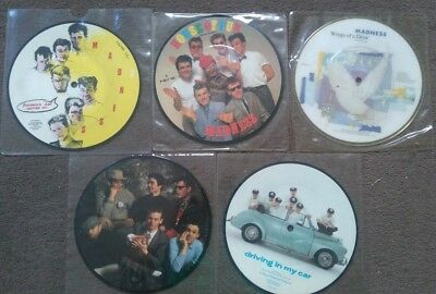 5 madness picture discs House of Fun One Better Day Wings of a Dove