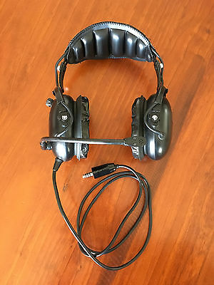 Flightcom Blackhawk DSP Aircraft Headset Helicopter / Aeroplane