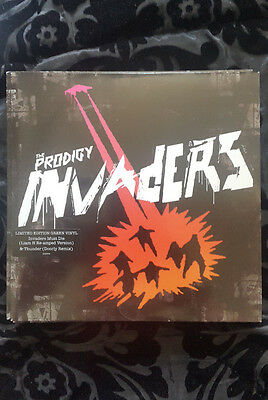 PRODIGY limited edition 7'' vinyl invaders must die