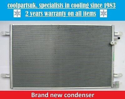 Brand New Condenser (Air Con Radiator) Audi A6 / Allroad / Rs6 / S6 2004 To 2011
