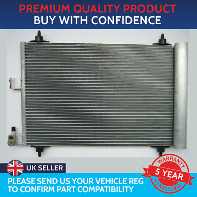 Condenser Air Con Radiator To Fit Citroen Berlingo Xsara Picasso Peugeot Partner