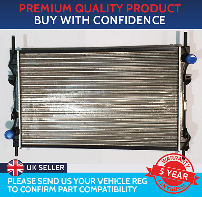 Części samochodowe BRAND NEW RADIATOR TO FIT TRANSIT NO AIR CON 2006 TO 2013 671mm x 462mm CORE