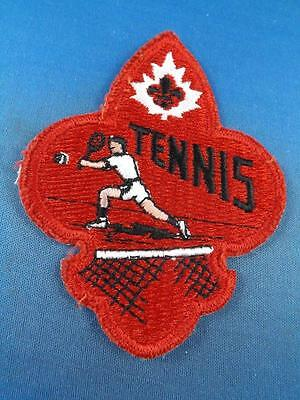 Boy Scouts  Tennis  Patch Collector Badge