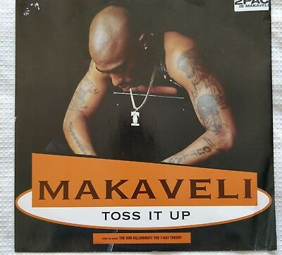 2pac vinyl record makaveli toss it up