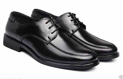 Men's casual Flats Leather Shoes Lace Up Dress/Formal business Oxford Classic A!