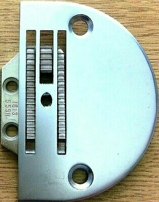 Heavy Needle Plate W/Feed Dog Universal Lockstitc Industrial Sewing Machine Part