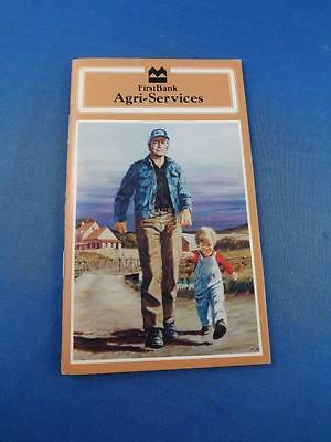 Farmers Pocket Memo Notebook First Bank Agri-Services Bank Of Montreal 1978 1979