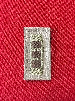 US Army CW3 Rank Patch Desert Tan