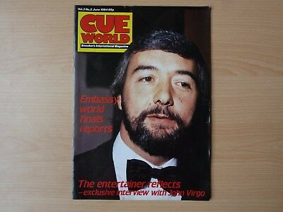 Cue World magazines January-December 1984, 11 early issues Volumes 2/3