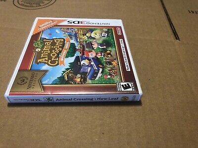Animal Crossing: New Leaf Welcome Amiibo Nintendo Selects 3DS Sealed Authentic