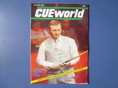 Cue World magazines January-December 1986, 12 early issues .