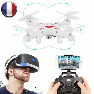 Wifi Real Time Shooting 2.4G 4CH 6-Axis Gyro FPV RC Quadcopter With HD Camera FR