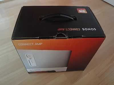 2x SONOS CONNECT AMP BOXES, PACKING & QUICK START GUIDE ONLY