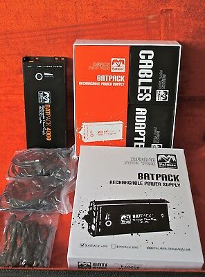 Alimentation effets guitare PALMER Batpack 4000, EXC condition