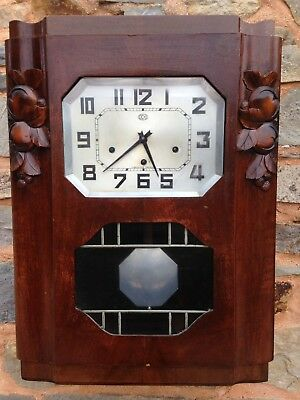 Carillon Odo N° 21 Clock  6 Tiges 8 Marteaux Westminster Work Well
