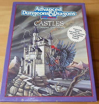 CASTLES BOX SET AD&D 2nd TSR 1056 UNUSED UNPUNCHED COMPLETE