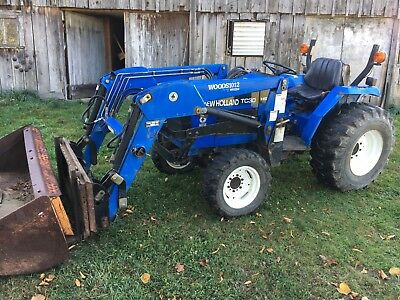 2003 New Holland Tc30 4x4 Diesel Loader Tractor