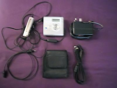 Sony Mz-Nh700 Hi-Md Minidisc Player/recorder Walkman With Am / Fm Radio