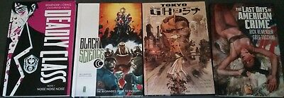 Lot Image Comics Hardcover Black Science Tokyo Ghost Deadly Class American Crime