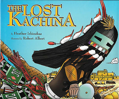 The Lost Kachina and The Lost Kachina Coloring Book