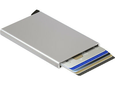 SECRID Card Protector Aluminium RFID Secured Card Protector Made in Holland
