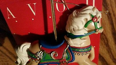 Avon Ornament Carousel Gallant Steed