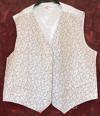 "New Wedding/occasion Waistcoat 60"" Chest"