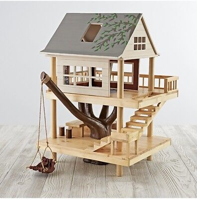 LAND OF NOD TREEHOUSE PLAY SET Dollhouse Retail +$200