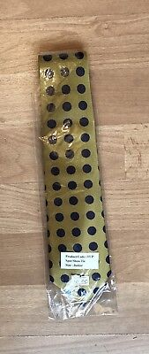 Equetech Gold/Navy Uber Spot Childs Tie - Showing - In Hand - Ridden