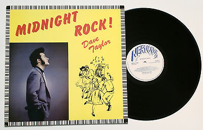 Neo Swing from 1983! ♫ LP - DAVE TAYLOR : Midnight Rock! (Nervous Records) RARE