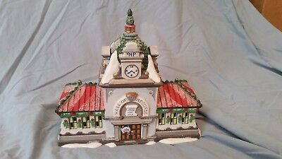 Department 56 Heritage Village North Pole Series HALL OF RECORDS #56392