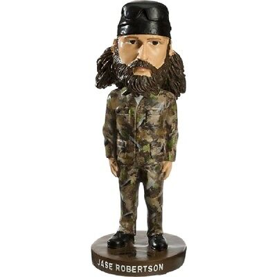 New Duck Dynasty Commander Jase Robertson Bobble Head Figure New in Box
