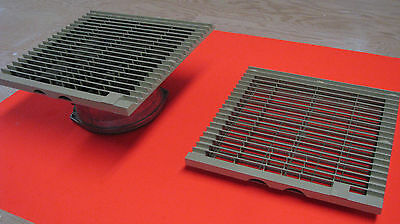"""Rittal Enclosure Cooling Fan and inlet louver - 10in x 10"""""""