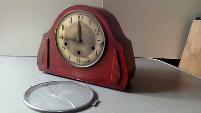 Thomas Haller Art Deco Chiming Clock for up cycling